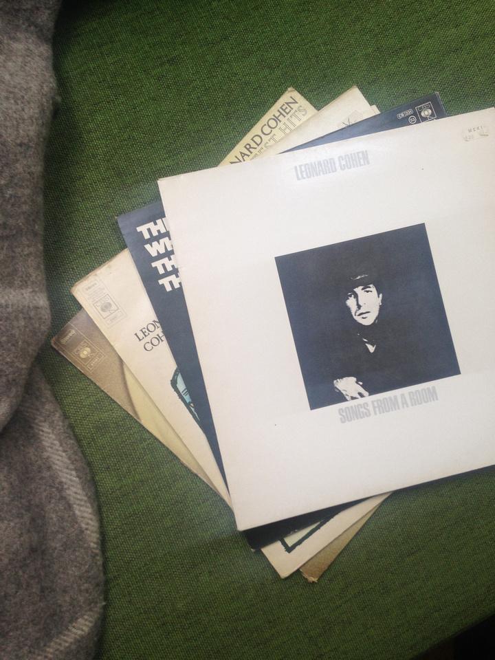 Leonard Cohen LP Platten